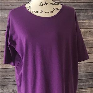 Purple Lularoe Blouse